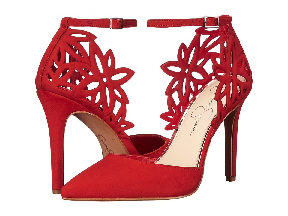Jessica Simpson Cancan (Red Muse Rio Nubuck) Women
