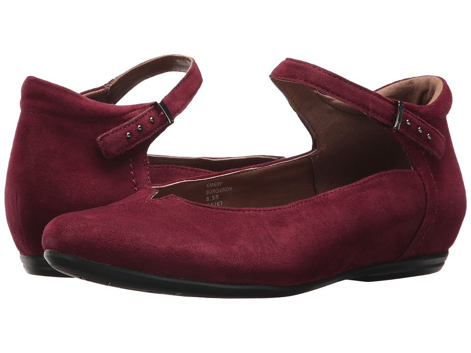 Earth Emery Earthies (Burgundy Suede) Women