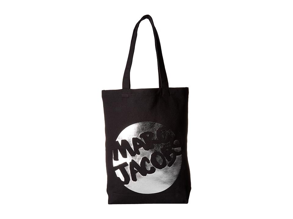 Marc Jacobs - Logo Shopper (Black) Handbags