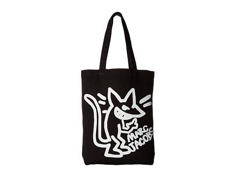 Marc Jacobs Logo Shopper - Black