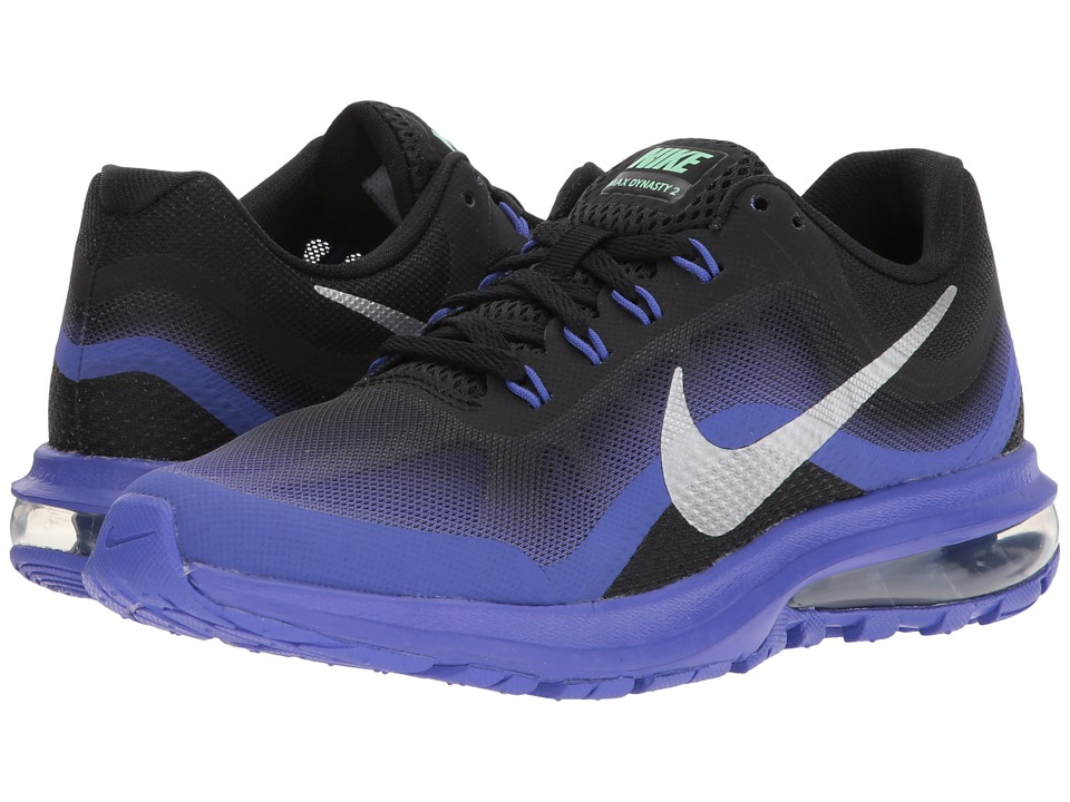 Nike Air Max Dynasty 2 (Black/Chrome/Persian Violet) Women