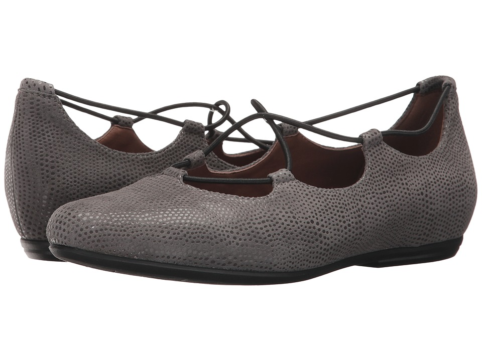 Earth Essen Earthies (Grey Printed Suede) Women