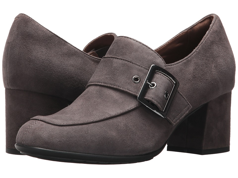 Earth Rhea Earthies (Dark Slate Suede) High Heels