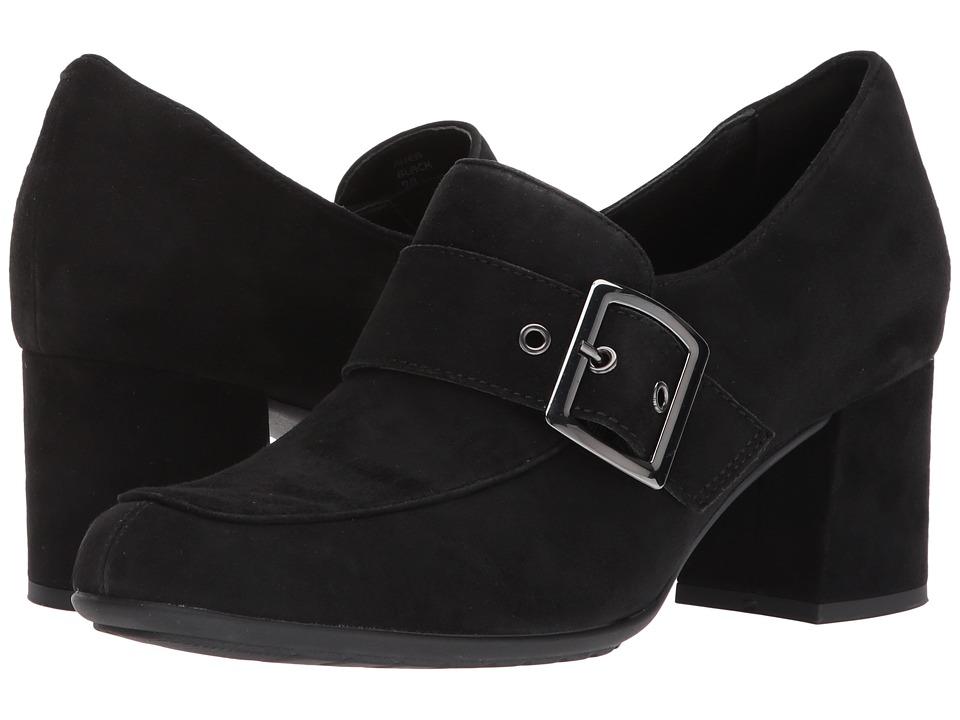 Earth Rhea Earthies (Black Suede) High Heels