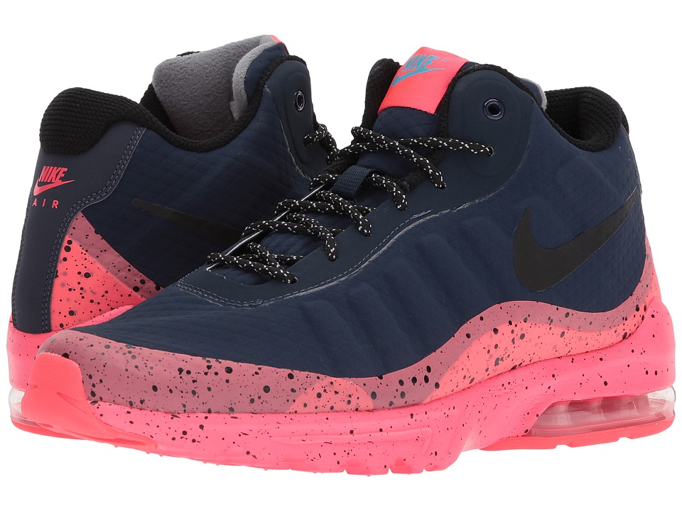 Nike Air Max Invigor Mid (Obsidian/Black/Solar Red/Blue F...