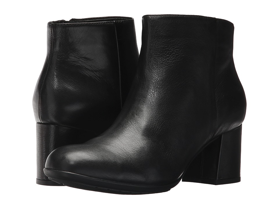 Earth Apollo Earthies (Black Full Grain Leather) Women