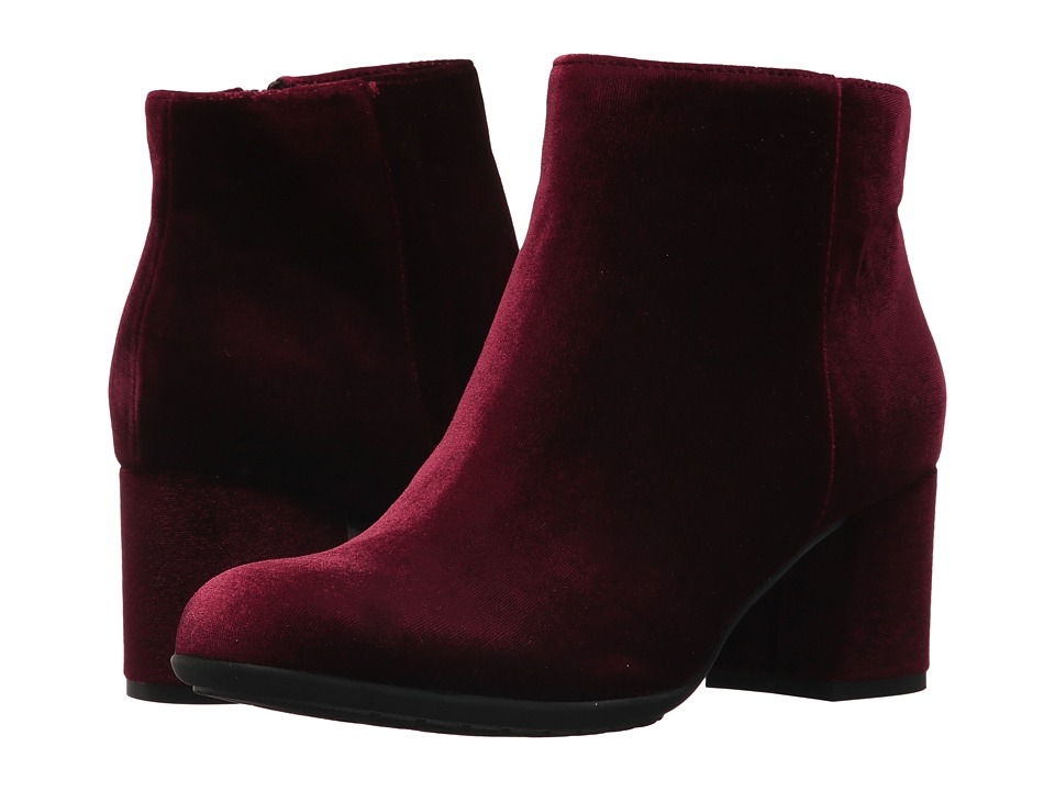 Earth Apollo Earthies (Burgundy Velvet) Women