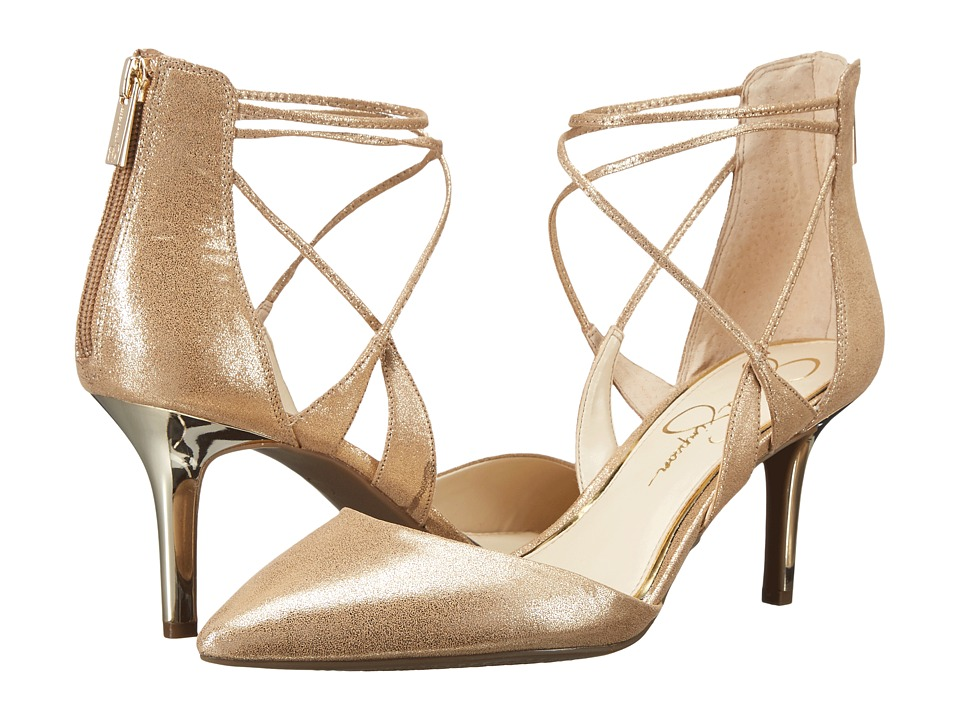 Jessica Simpson Piah (Gold Dusty Metallic) Women