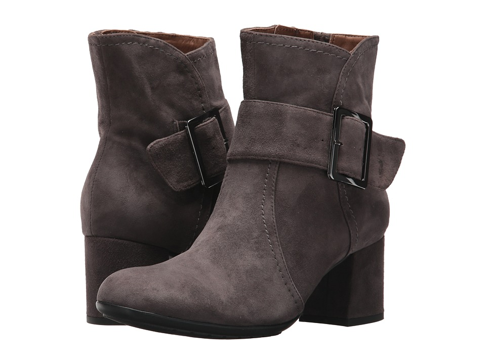 Earth Athena Earthies (Dark Slate Suede) Women
