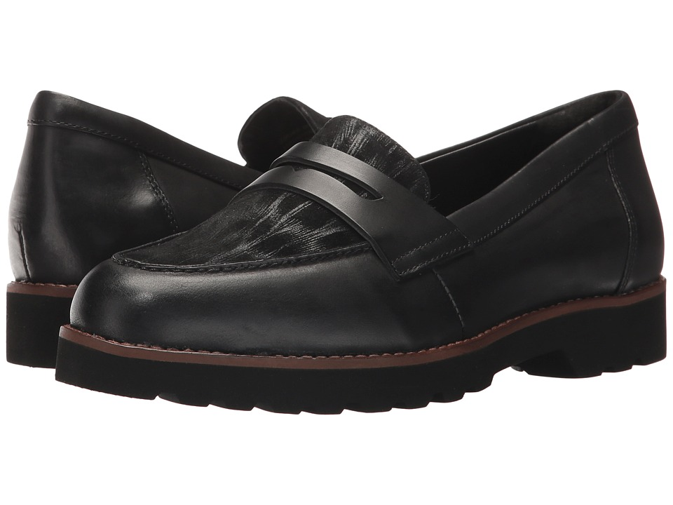 Earth Braga Earthies (Black Brush-Off Leather) Women
