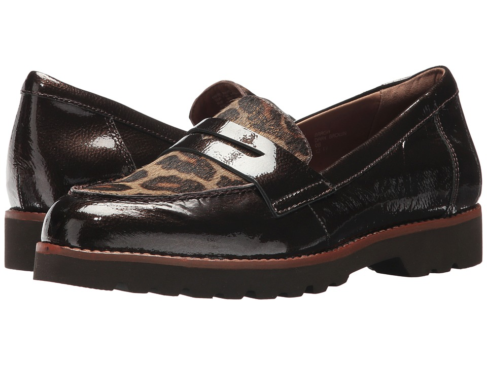 Earth Braga Earthies (Dark Brown Pearlized Patent) Women