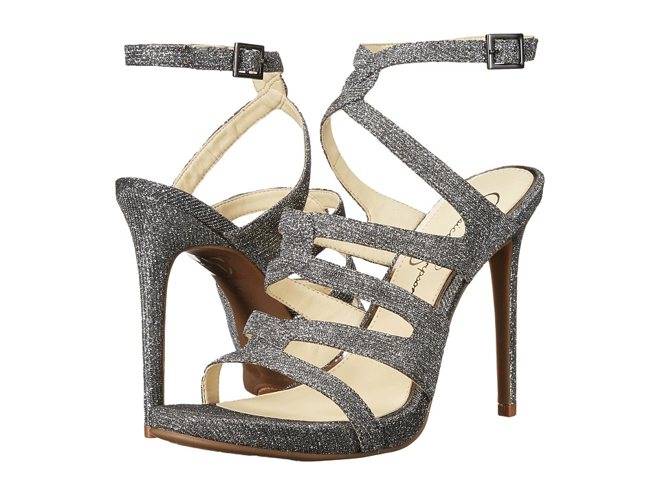 Jessica Simpson - Reyse (Pewter Multi Glitter Gabor) Womens Shoes