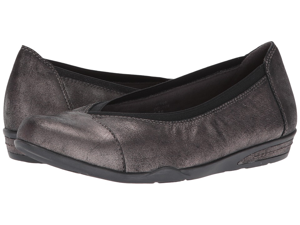 Earth Mara (Pewter Distressed Leather) Women
