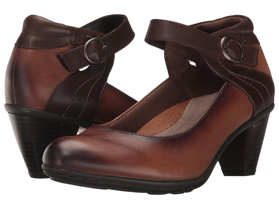Earth Garnet (Almond Full Grain Leather) High Heels