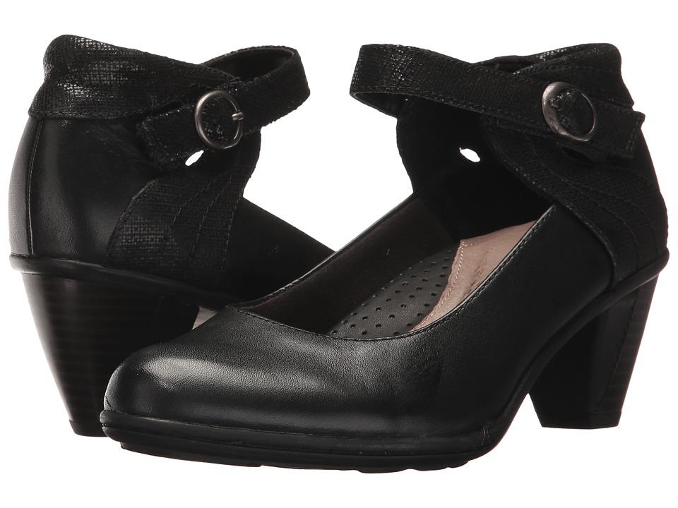 Earth Garnet (Black Full Grain Leather) High Heels