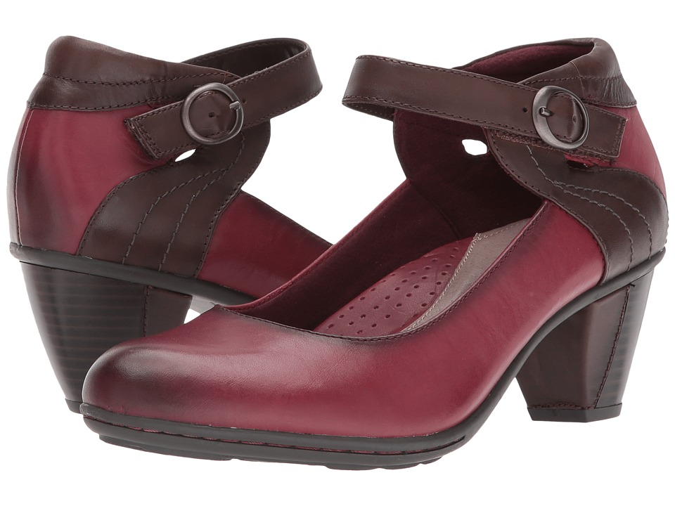 Earth Garnet (Wine Full Grain Leather) High Heels