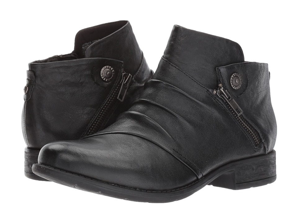 Earth Ronan (Black Brush-Off Leather) Women