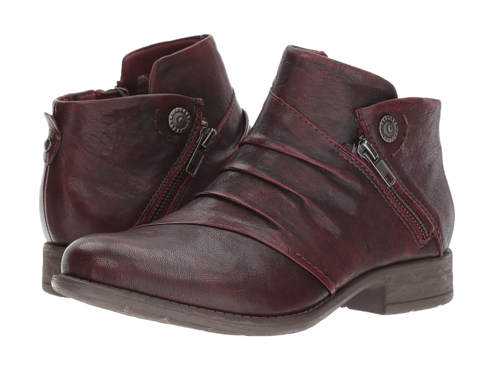 Earth Ronan (Garnet Brush-Off Leather) Women