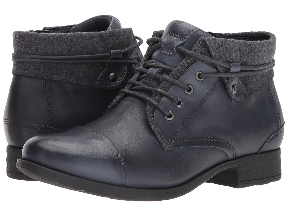 Earth Rexford (Admiral Blue Full Grain Leather) Women
