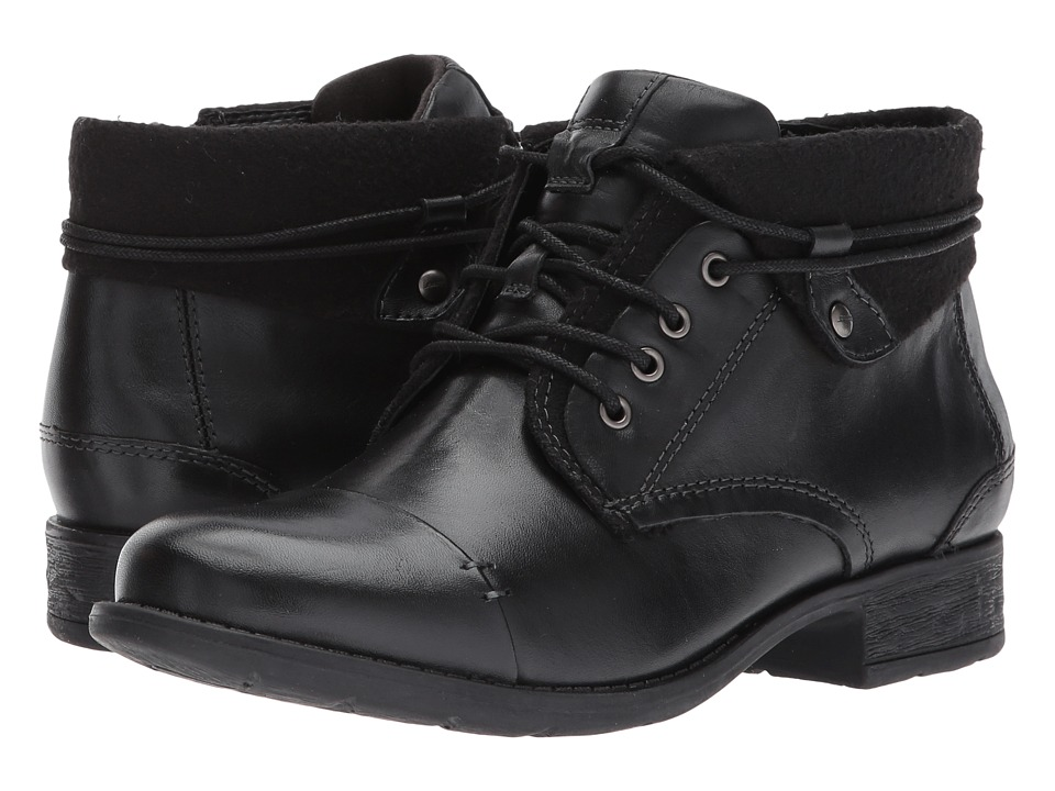 Earth Rexford (Black Full Grain Leather) Women