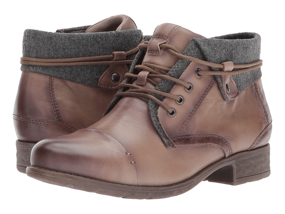 Earth Rexford (Taupe Full Grain Leather) Women