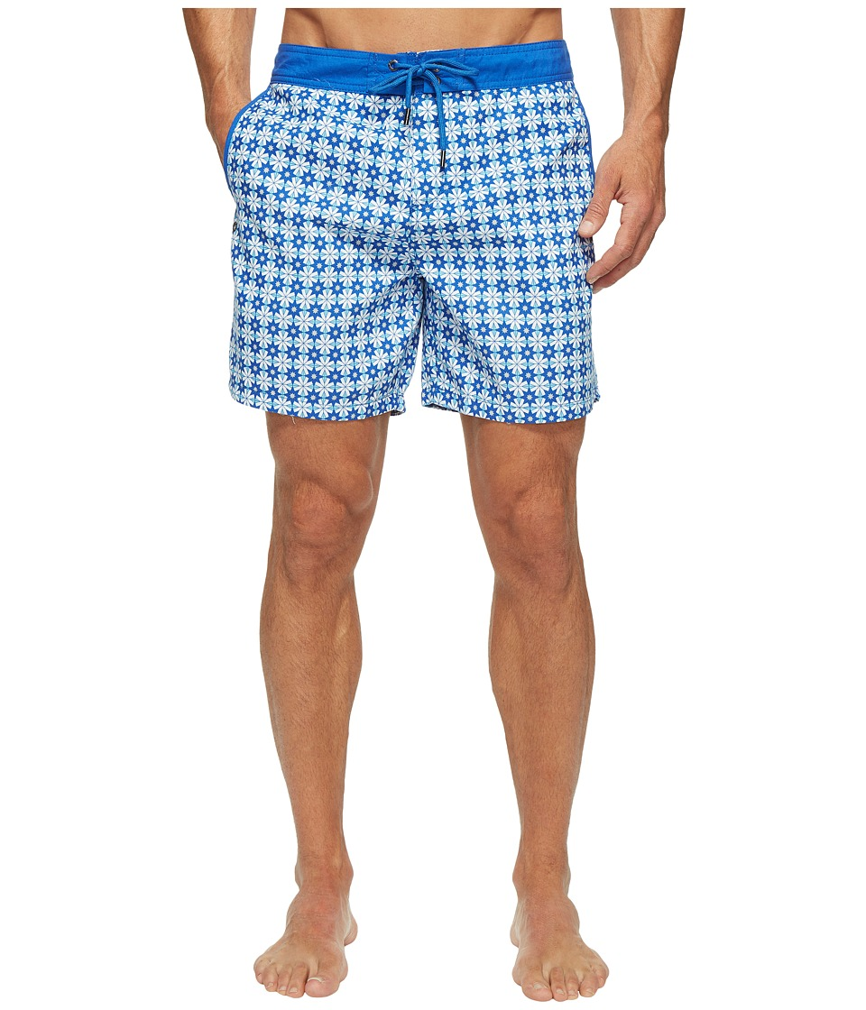 Mr. Swim Mr. Swim - Star Tile Printed Chuck Boardshorts