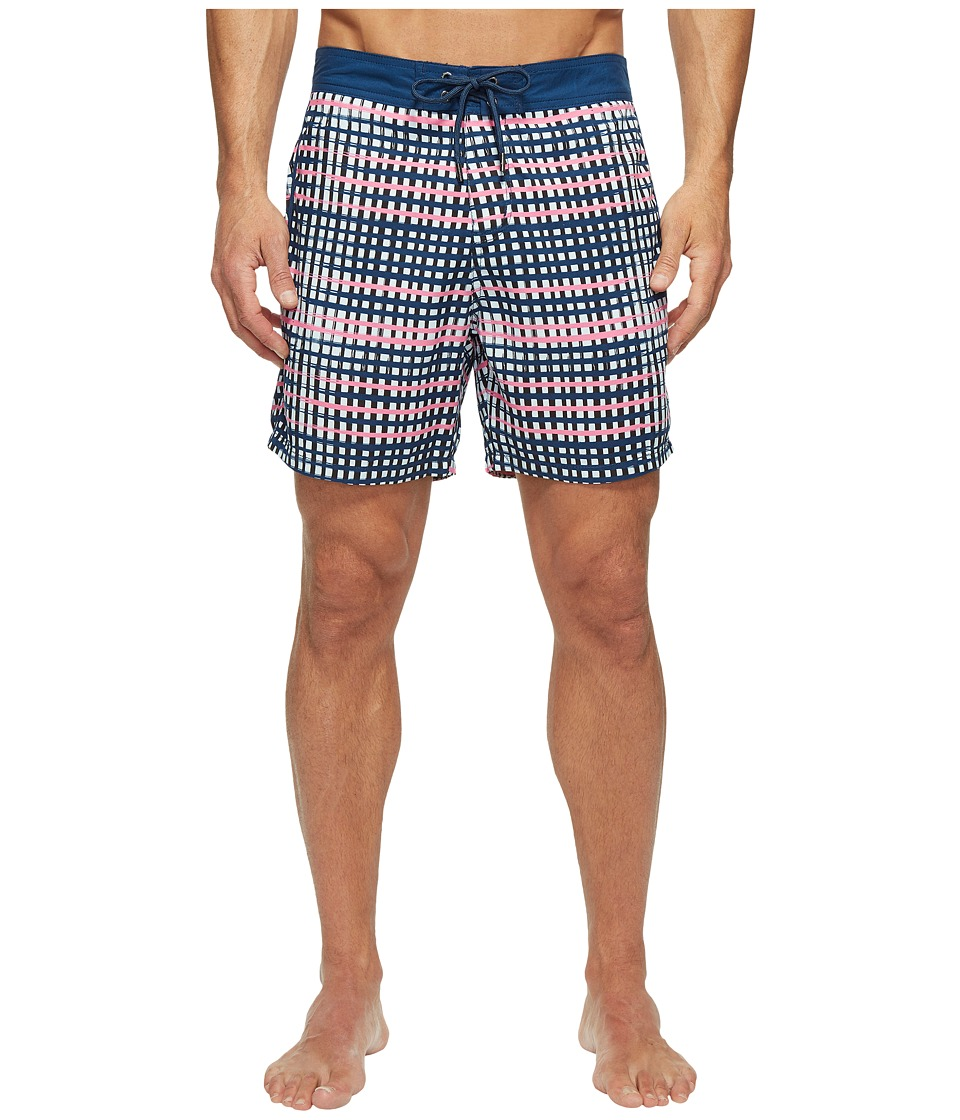Mr. Swim Mr. Swim - Flat Plaid Printed Chuck Boardshorts