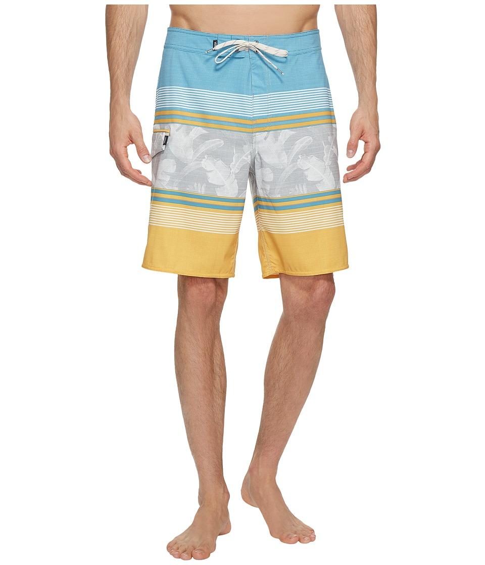 Vans Bonsai Stripe Stretch Boardshorts 20 (Golden Glow) Men