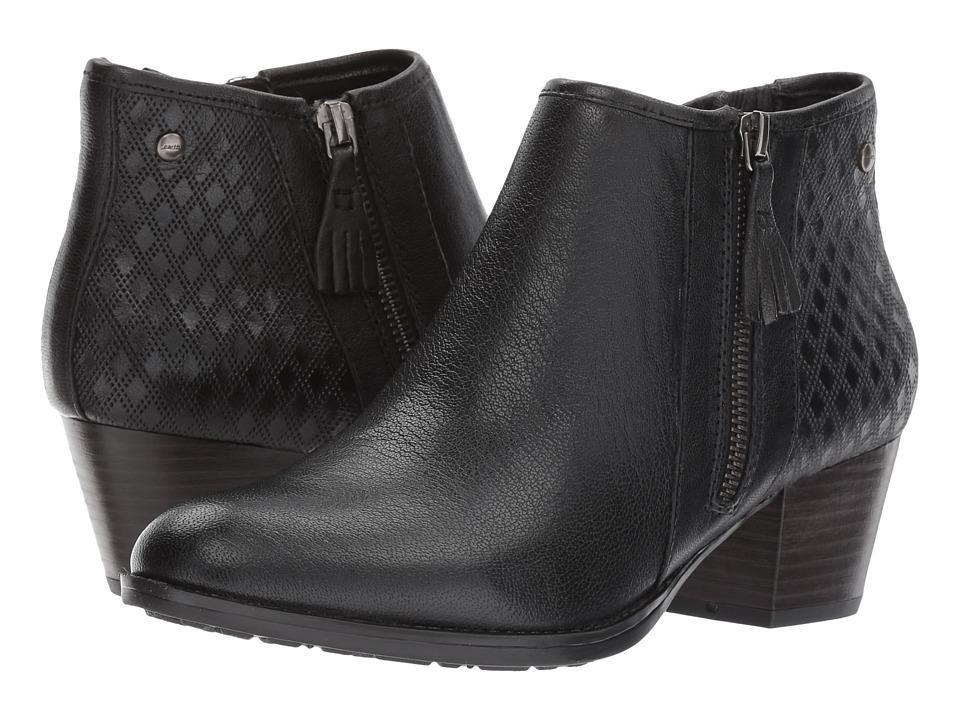 Earth Osprey (Black Brush-Off Leather) Women