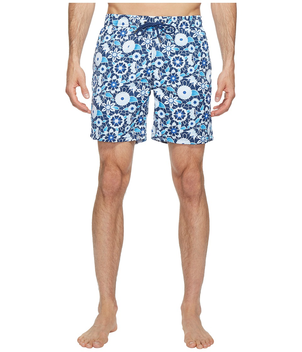 Mr. Swim Mr. Swim - Lace Floral Printed Dale Swim Trunk