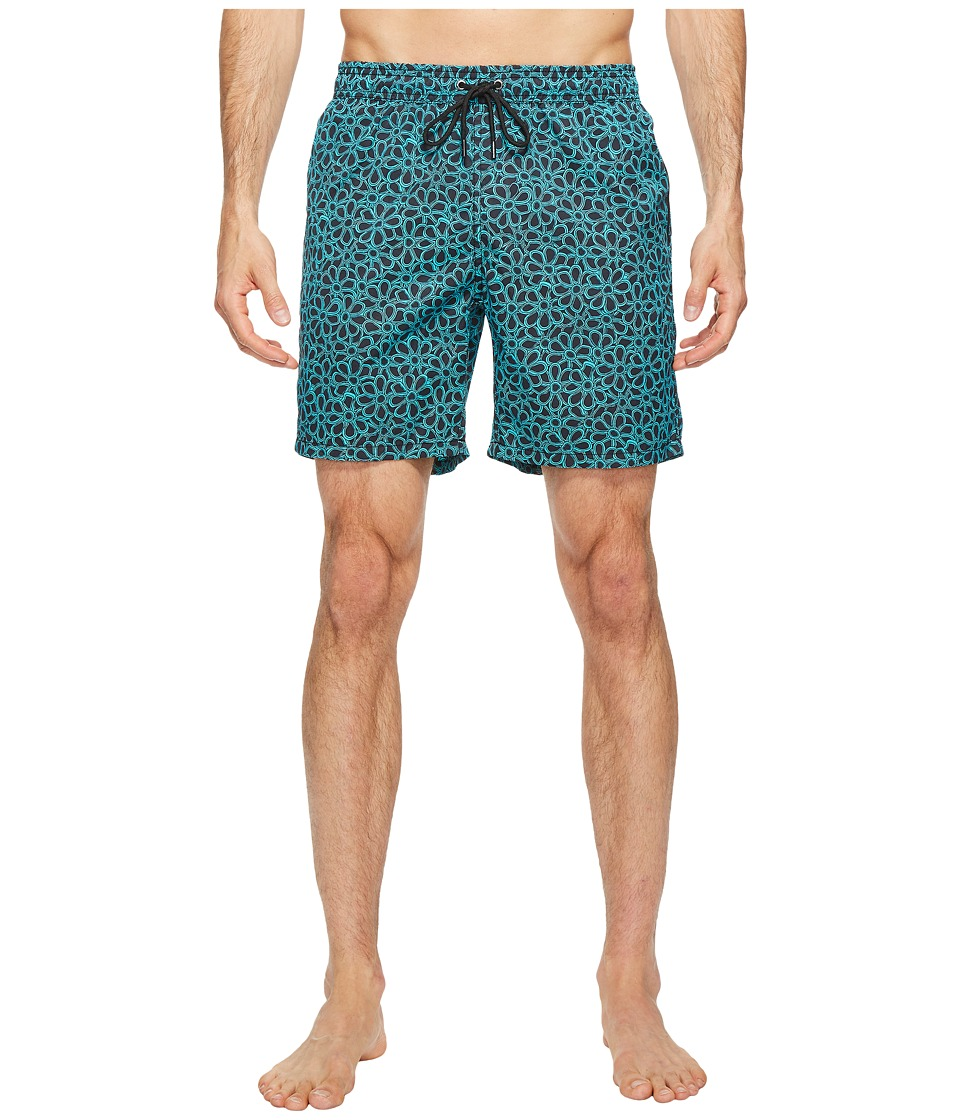 Mr. Swim Mr. Swim - Floral Printed Dale Swim Trunk
