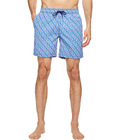 Mr. Swim - Triangular Printed Dale Swim Trunk