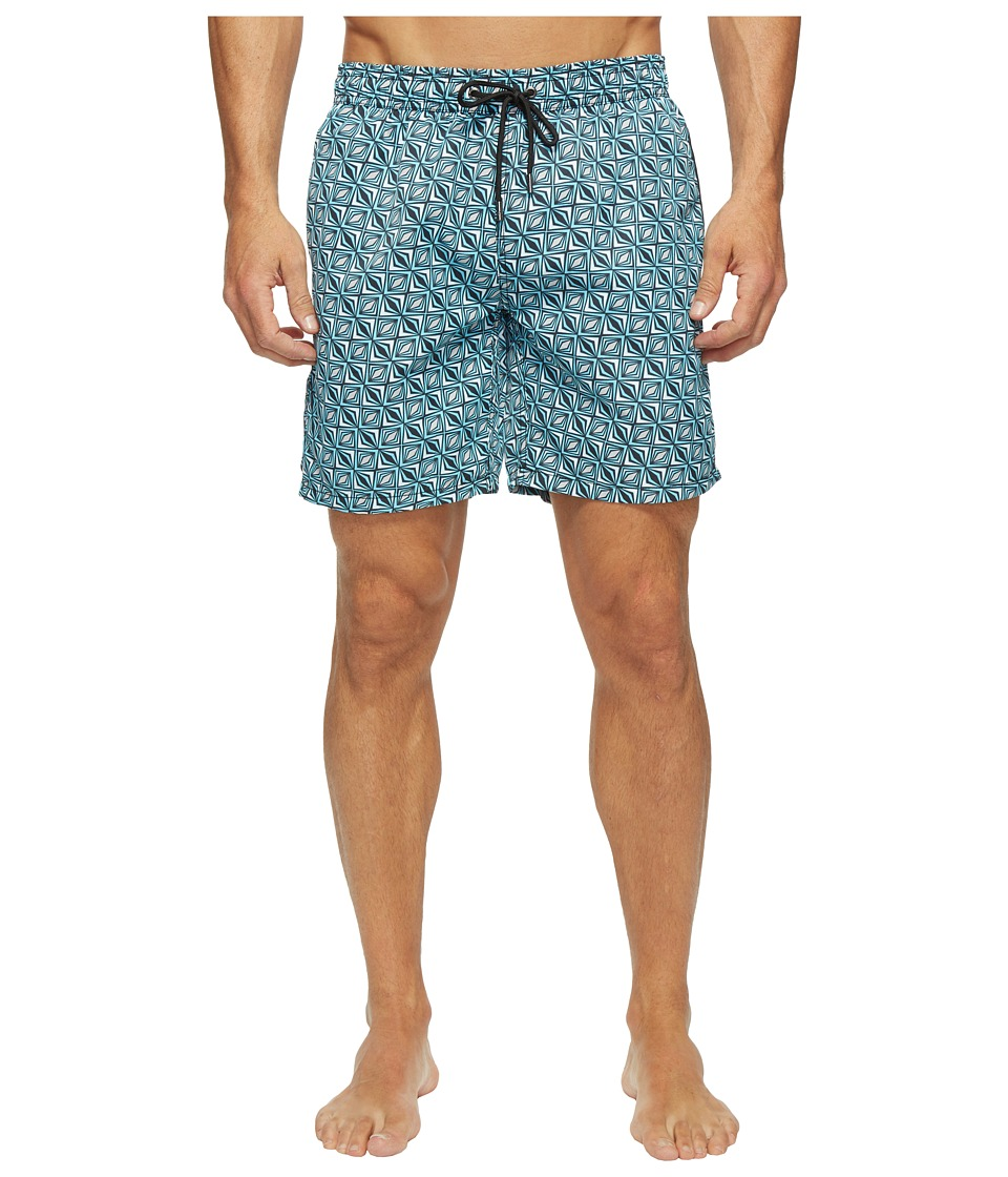 Mr. Swim Mr. Swim - Triangular Printed Dale Swim Trunk