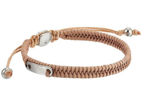 Fossil Woven Bracelet - Silver Tone 2