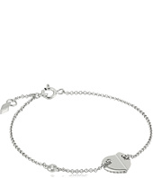Fossil - Sterling Folded Heart Bracelet