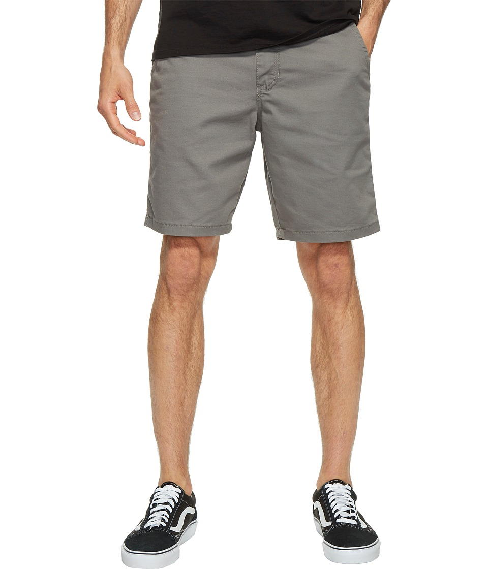 Vans Authentic Stretch Shorts 20 (Pewter) Men