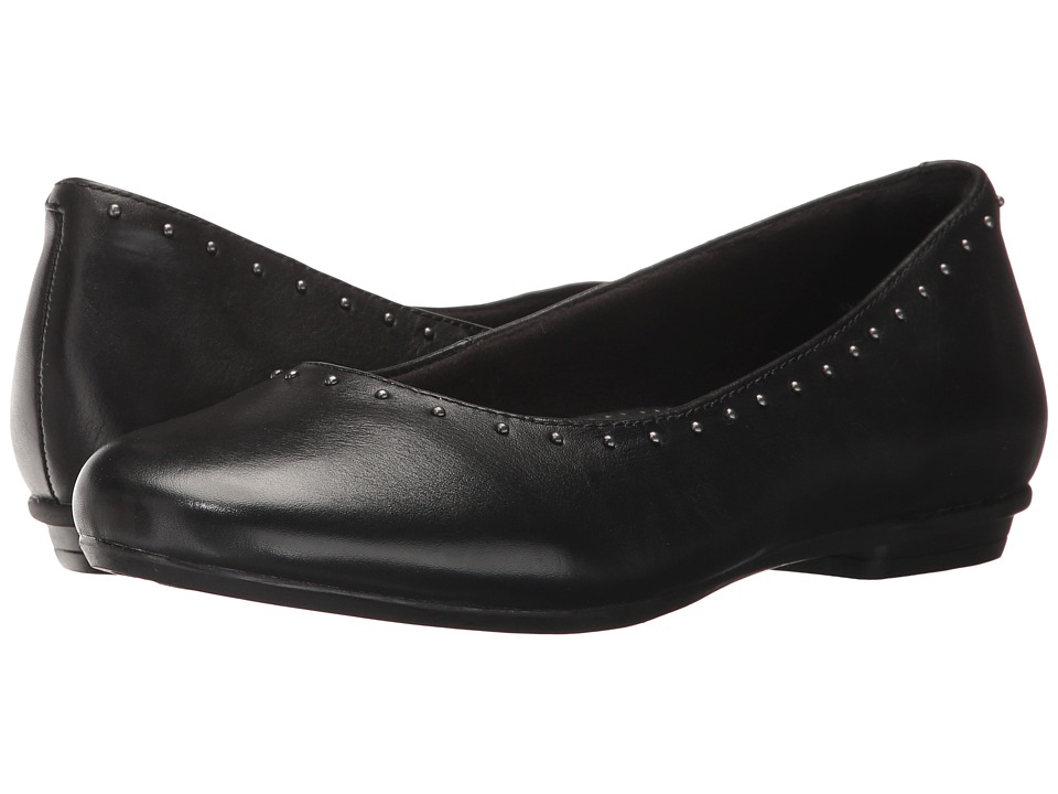 Earth Anthem (Black Full Grain Leather) Women