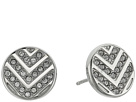 Fossil - Chevron Glitz Studs Earrings