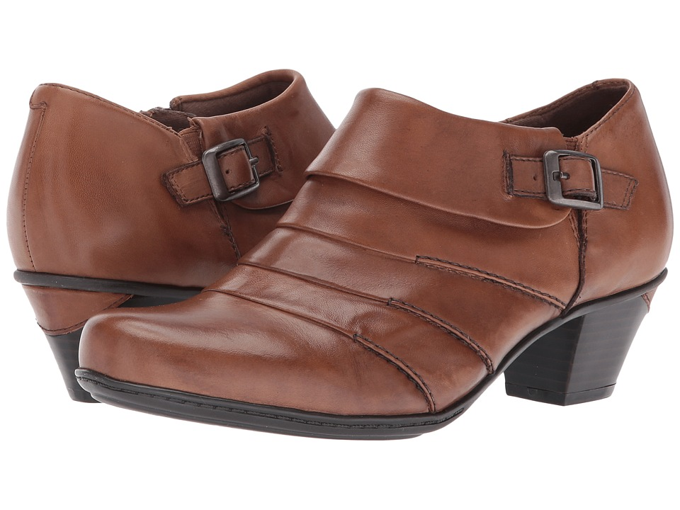 Earth Dawn (Almond Full Grain Leather) High Heels