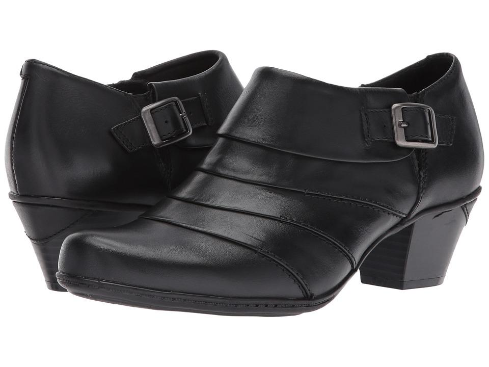 Earth Dawn (Black Full Grain Leather) High Heels