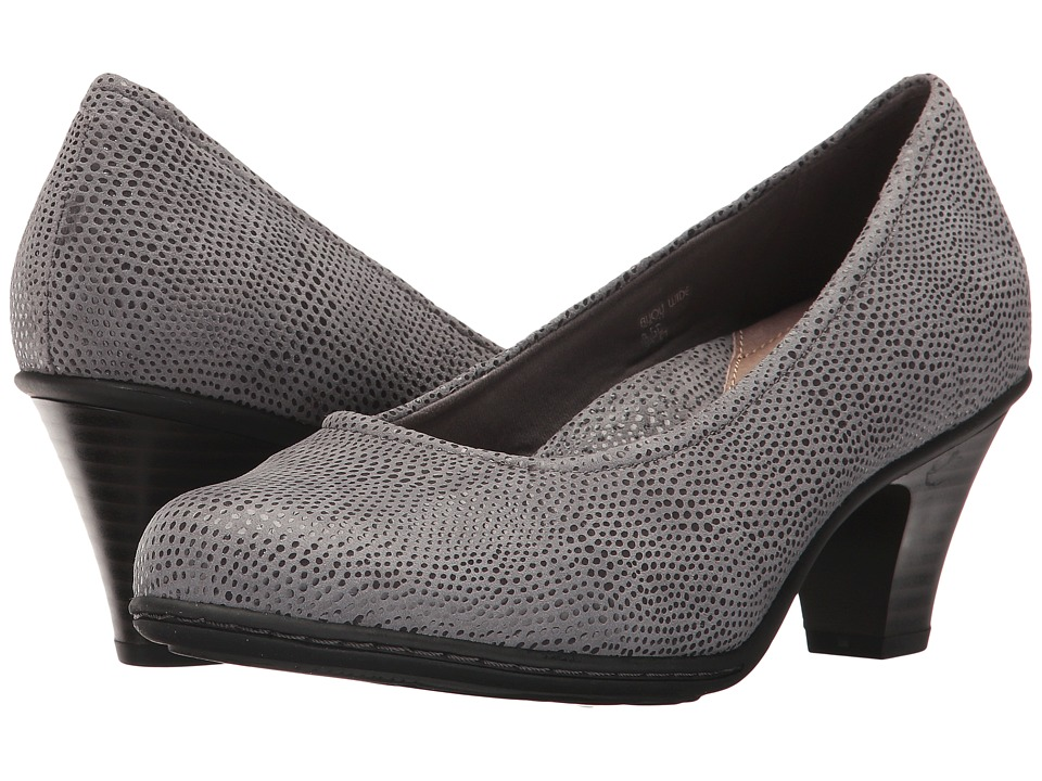 Earth Bijou (Grey Printed Suede) High Heels