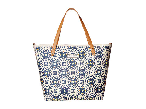 petunia pickle bottom Glazed Downtown Tote - Captivating Catalonia