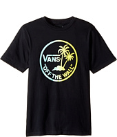 Vans Kids - Dual Palm Island Tee (Big Kids)