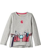 Carhartt Kids - Girls Tool Belt Tee (Toddler)