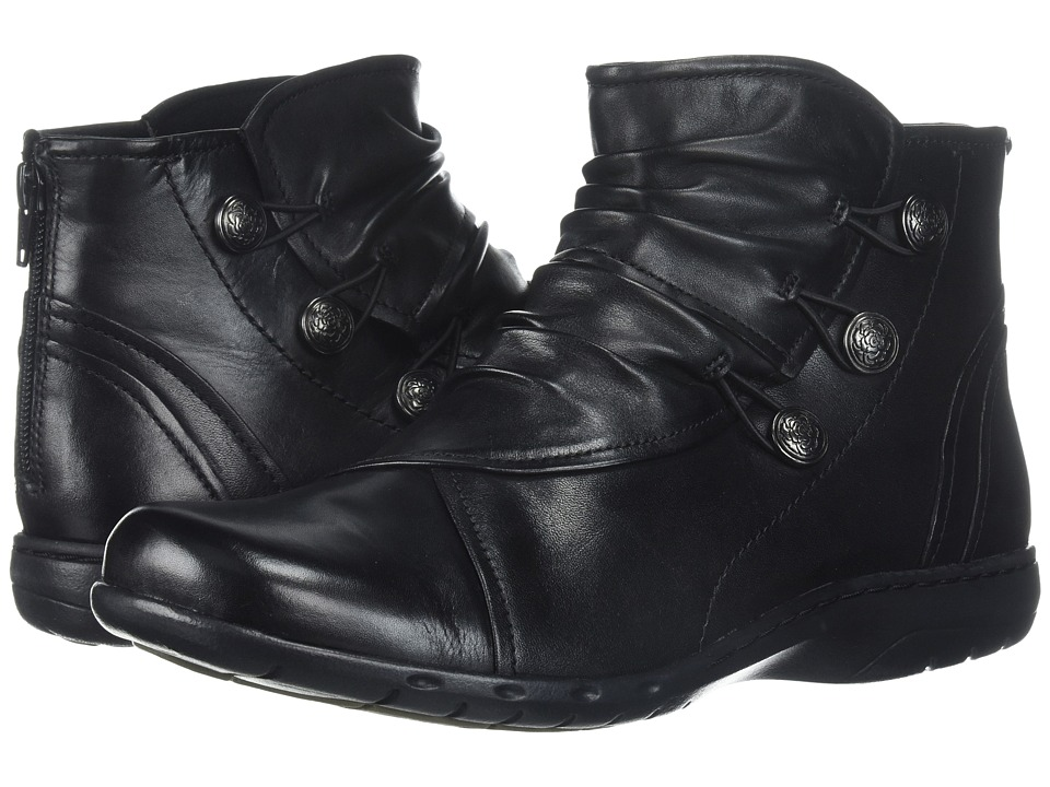 Rockport Cobb Hill Collection Cobb Hill Penfield Boot (Black Leather) Women's Shoes