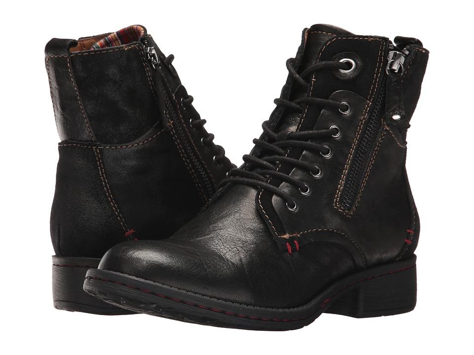 Comfortiva Sarango (Black Leather/Suede Combo) Women