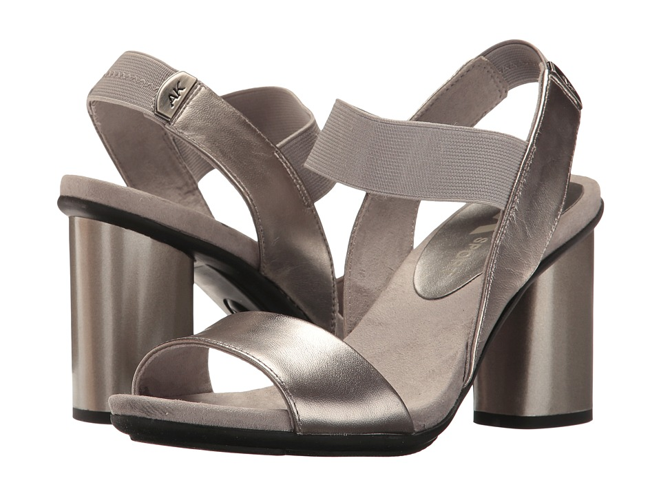 Anne Klein - Peppie (Pewter Leather) Womens Shoes