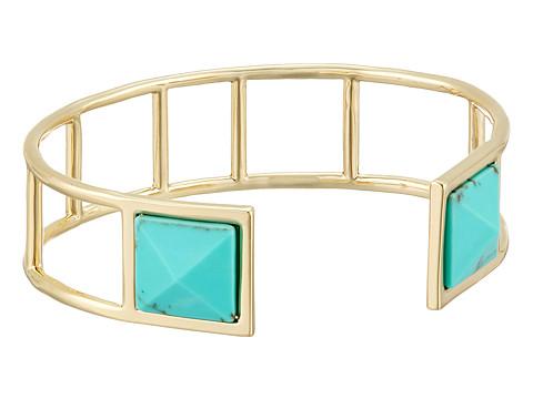 Vera Bradley Casual Glam Cuff Bracelet - Gold Tone