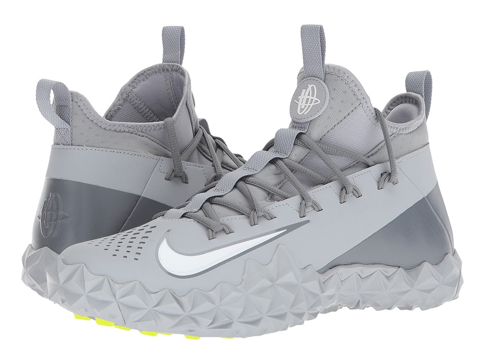 Nike Alpha Huarache 6 ELT Turf Lax (Wolf Grey/White/Cool ...