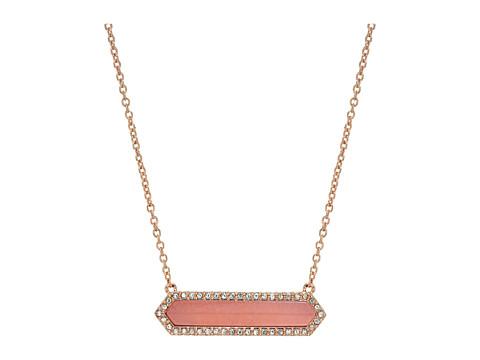 Vera Bradley Symmetry Necklace - Rose Gold Tone